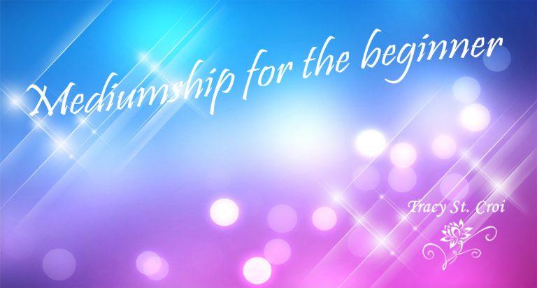 mediumship for beginners